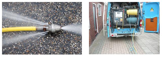 Reinigen drainage