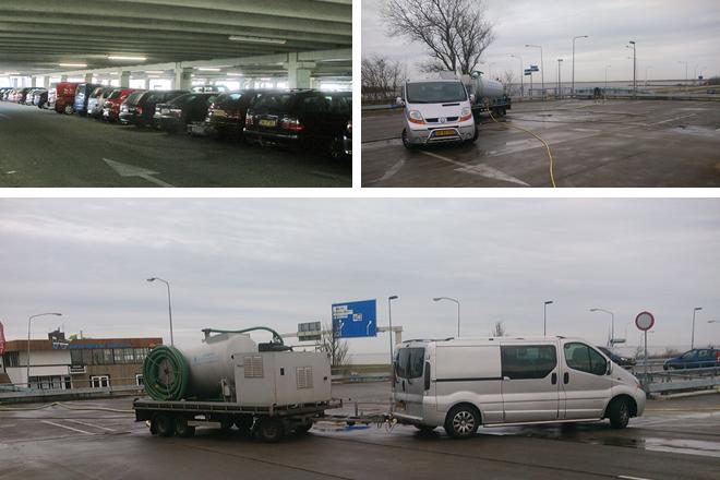 Parkeergarage Schiermonnikoog